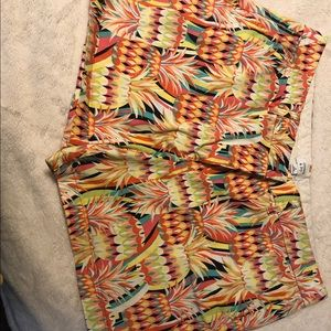 Crown and Ivy print shorts